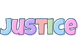 Justice pastel logo