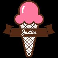 Justice premium logo