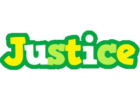 Justice soccer logo