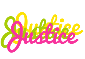 Justice sweets logo