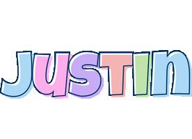 Justin pastel logo