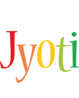 Jyoti birthday logo