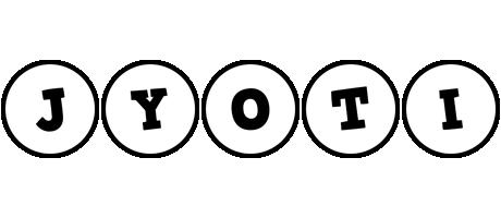 Jyoti handy logo