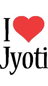 Jyoti i-love logo