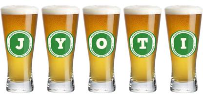 Jyoti lager logo