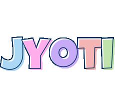 Jyoti pastel logo
