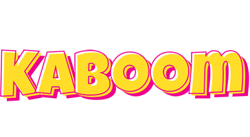 KABOOM logo effect. Colorful text effects in various flavors. Customize your own text here: https://www.textGiraffe.com/logos/kaboom/