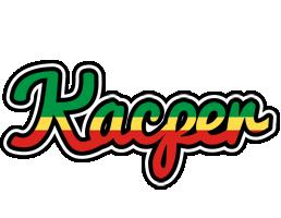 Kacper african logo