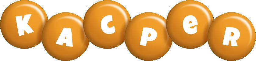 Kacper candy-orange logo