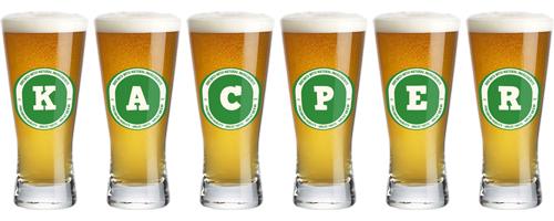 Kacper lager logo