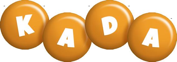 Kada candy-orange logo