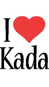 Kada i-love logo