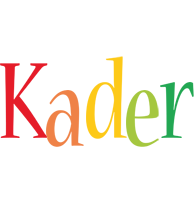 Kader birthday logo