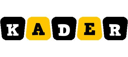 Kader boots logo