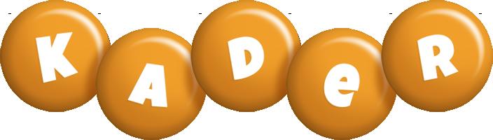 Kader candy-orange logo