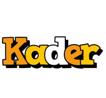 Kader cartoon logo