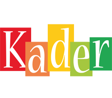 Kader colors logo
