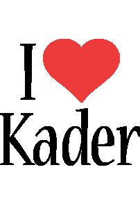 Kader i-love logo