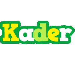 Kader soccer logo
