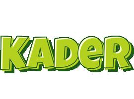 Kader summer logo