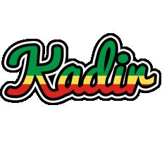 Kadir african logo