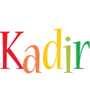 Kadir birthday logo