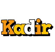 Kadir cartoon logo