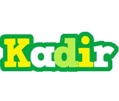 Kadir soccer logo