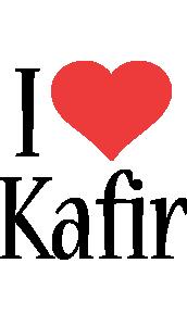 Kafir i-love logo