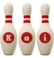 Kai bowling-pin logo