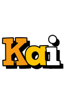 Kai cartoon logo