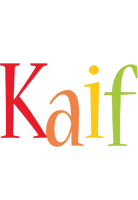 Kaif birthday logo