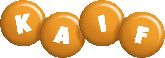 Kaif candy-orange logo
