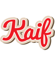 Kaif chocolate logo