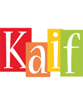 Kaif colors logo