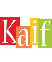 Kaif colors logo