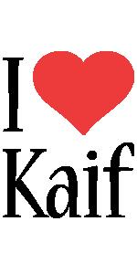 Kaif i-love logo