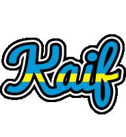 Kaif sweden logo