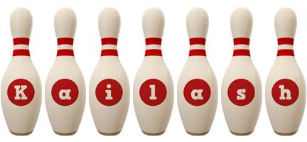 Kailash bowling-pin logo