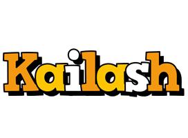 Kailash cartoon logo