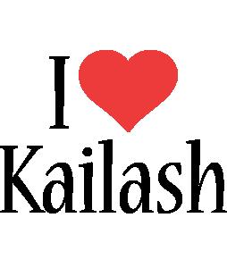 Kailash i-love logo