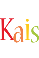 Kais birthday logo
