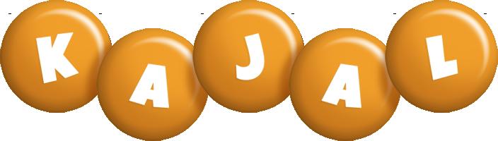 Kajal candy-orange logo