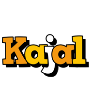 Kajal cartoon logo