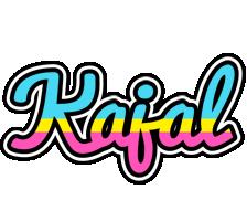 Kajal circus logo