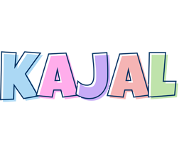 Kajal pastel logo