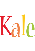 Kale birthday logo