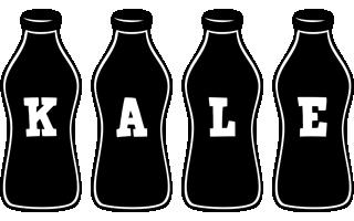 Kale bottle logo