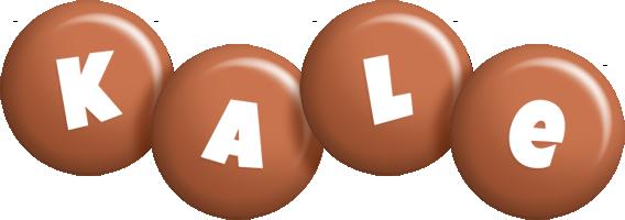 Kale candy-brown logo