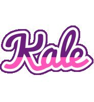 Kale cheerful logo